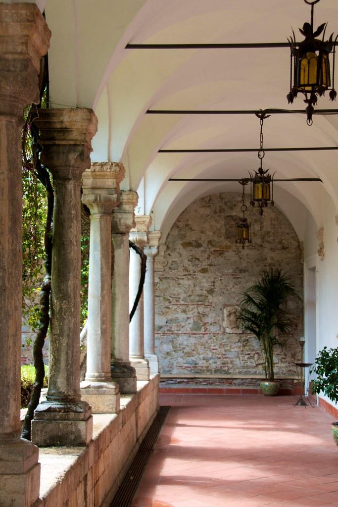 Portico del Chiostro, San Domenico Palace Taormina