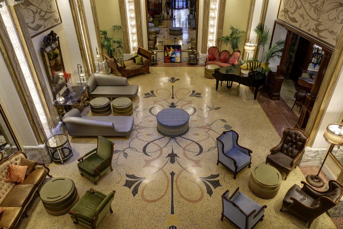 Lobby del Grand Hotel Savoia
